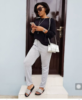Mercy Aigbe styles