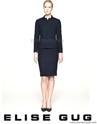 Crown Princess Mary wore Elise Gug Suit - FallWinter 2014