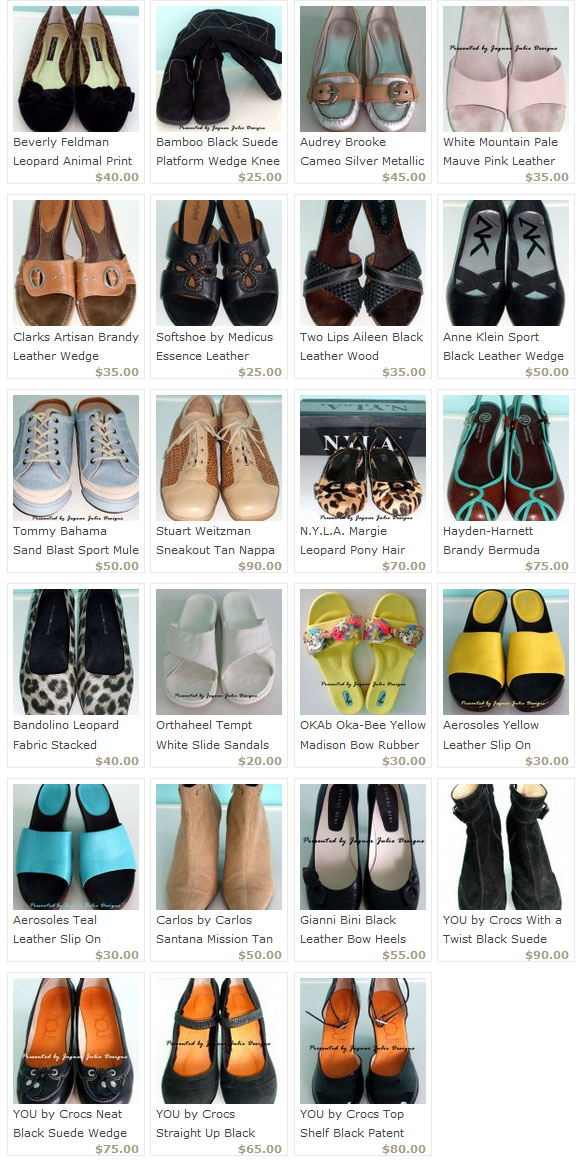 walk in the shoes of jaguarjulie - shoes for sale on ecrater