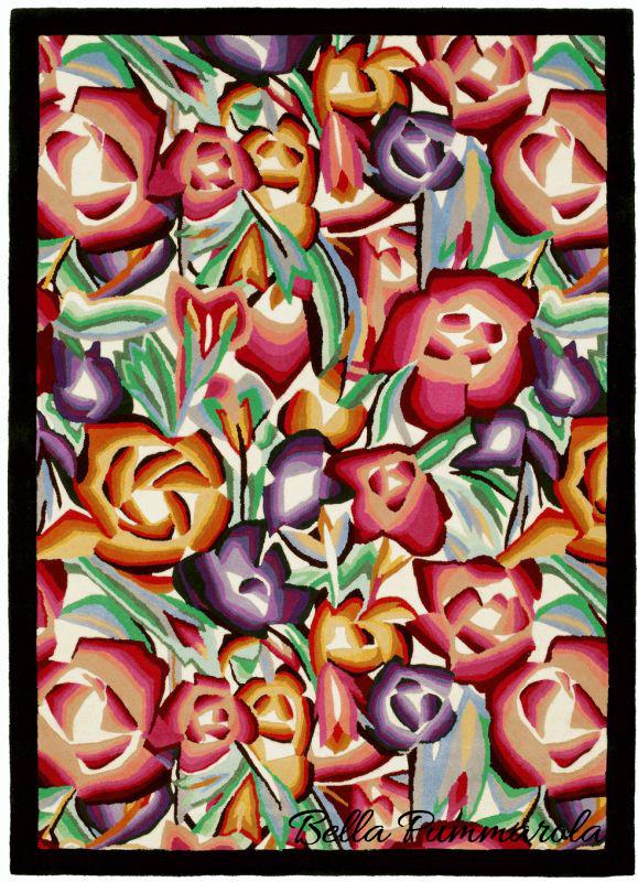 missoni roseraie rug