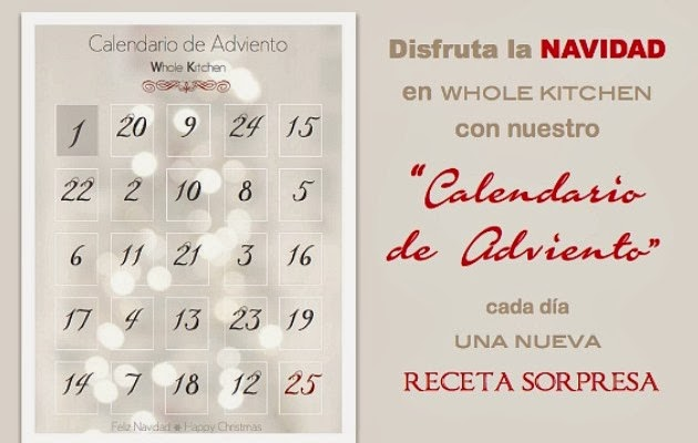 Calendario de Adviento Whole Kitchen 2013