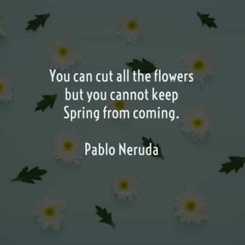 Spring quotes and sayings with thoughts of happiness