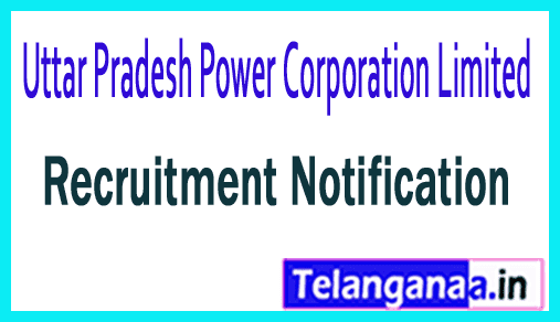 Uttar Pradesh Power Corporation Limited UPPCL Recruitment Notification