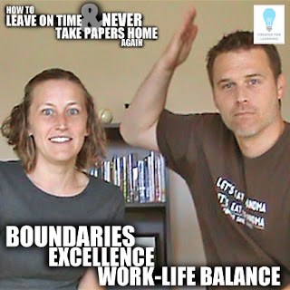 Boundaries, Excellence, and WorkLife Balance (Episode 39). Today, we talk about how we teachers can still be excellent while holding firm boundaries between work and rest.