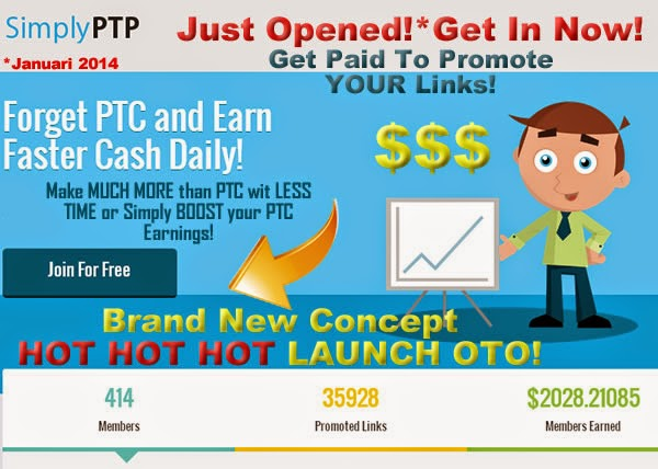 SIMPLY PTP: Get a Free Webpage that Pays, How SimplyPTP Works?
