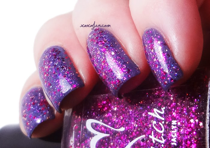 xoxoJen's swatch of b.i.t.c.h. by jaclyn Chick Flick