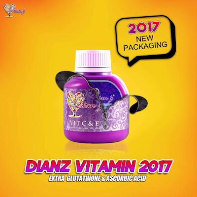 DIANZ VITAMIN C + E & EXTRA PEARL (VERSI 2017)