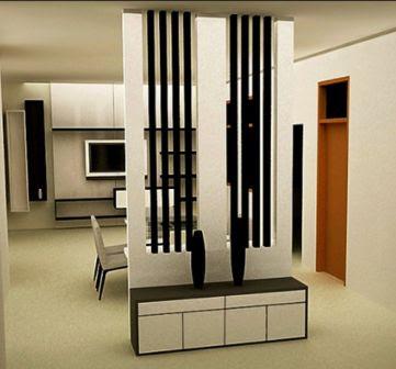 model partisi ruangan minimalis terbaru