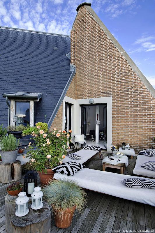 duplex paris. Black Bedroom Furniture Sets. Home Design Ideas