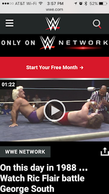 Flair vs. South on WWE Network