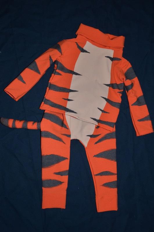Kostium Tygryska dla chłopca.
