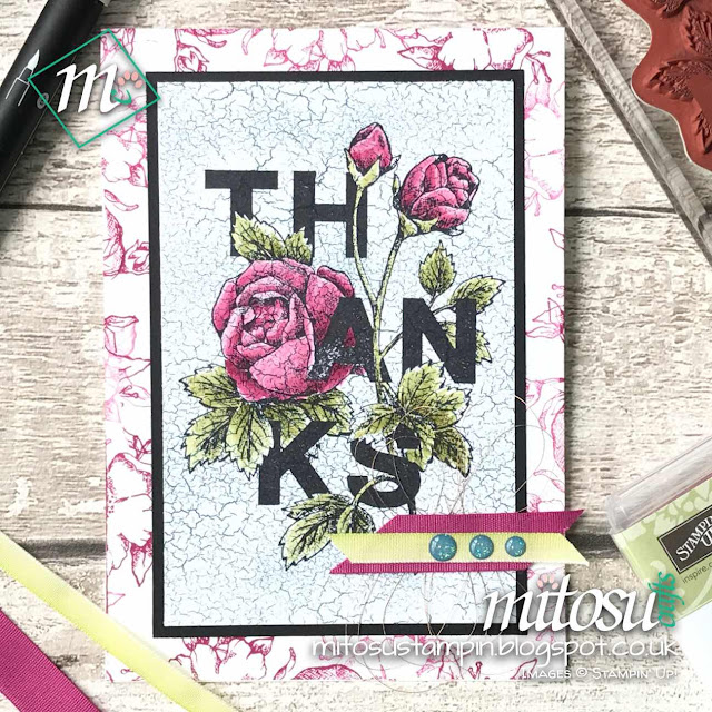 Stampin' Up! Floral Statements 2018 Order Stampinup SU Craft Supplies from Mitosu Crafts' Online Shop UK 2