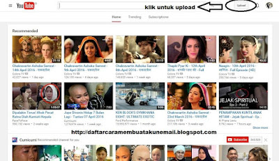 Cara Upload Video ke Youtube Dengan Mudah