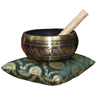 DronaCraft Brass Tibetan Meditation Singing Bowl
