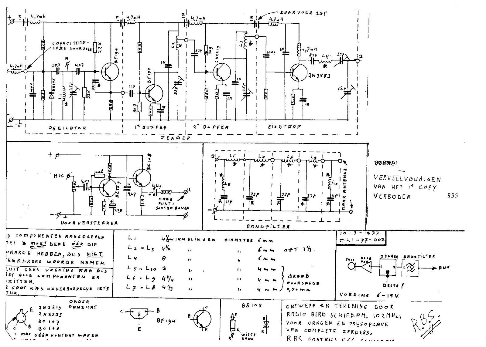 Fm Transmitters Radio Bird Schiedam 4traps Fm Transmitter