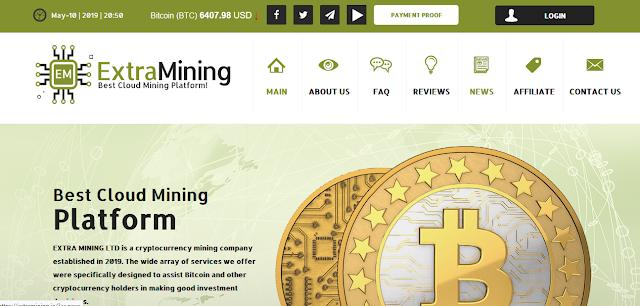 [SCAM] Мошеннический сайт extramining.io (support@extramining.io) - Отзывы, платит или лохотрон?