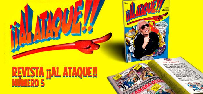Revista ¡¡Al Ataque!! Nº 5