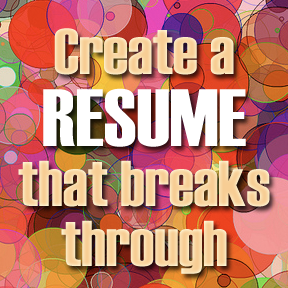 creating a strong resume, resume half page test, creating a powerful resume,