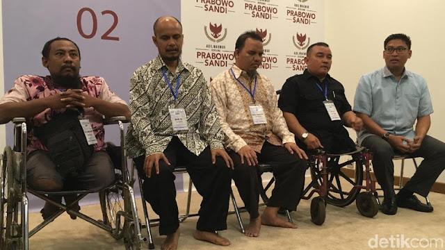 Prabowo Janji Libatkan Penyandang Difabel Penuhi UU Disabilitas