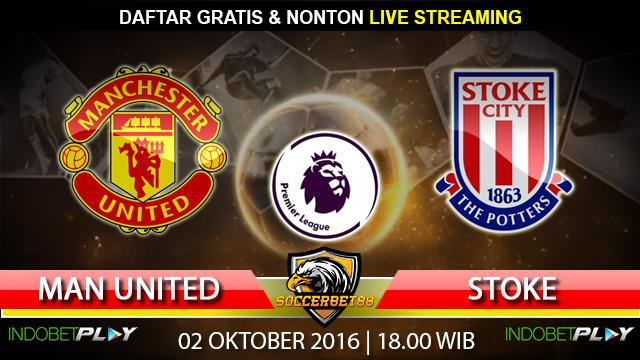 Prediksi Manchester United vs Stoke 02 Oktober 2016 (Liga Inggris)