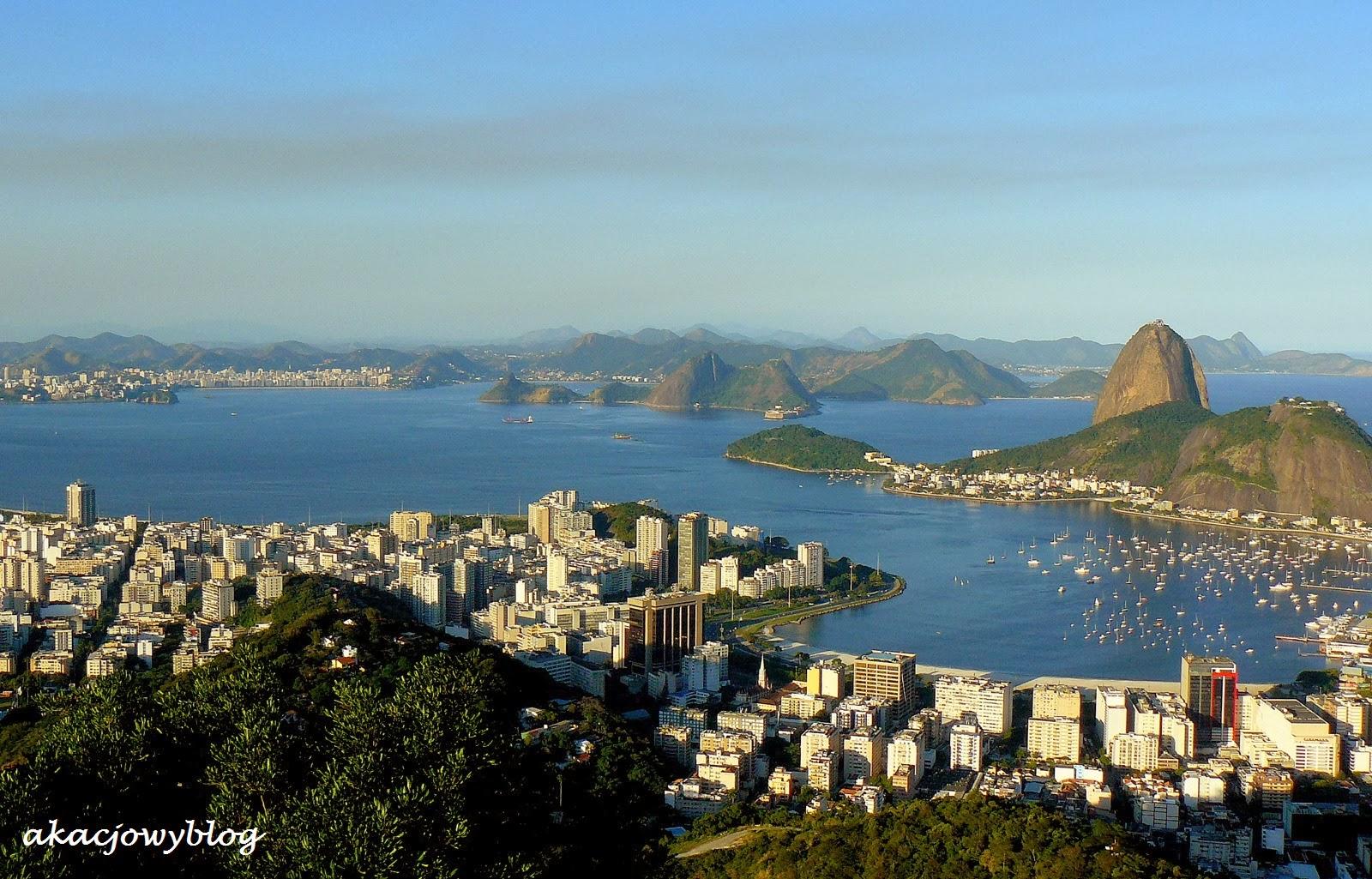 Rio de Janeiro czyli Styczniowa Rzeka w Brazylii.