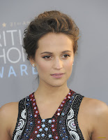 Alicia Vikander - 21st Annual Critics' Choice Awards @ Barker Hangar in Santa Monica - 01/17/15