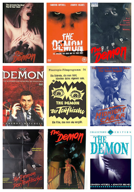 THE DEMON (1981)—The HALLOWEEN rip-off that wouldn't die!