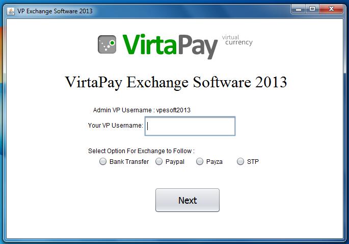instant virtapay converter software