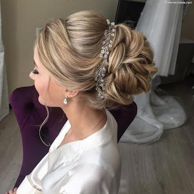 Peinados de novia modernos