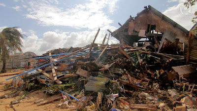 house wrecked by Yolanda