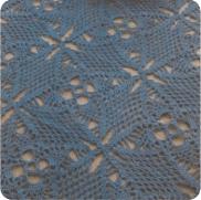 Tapete Azul a Crochet