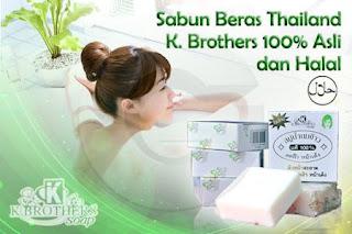 Sabun Beras Susu Thailand - Wajah & Tubuh