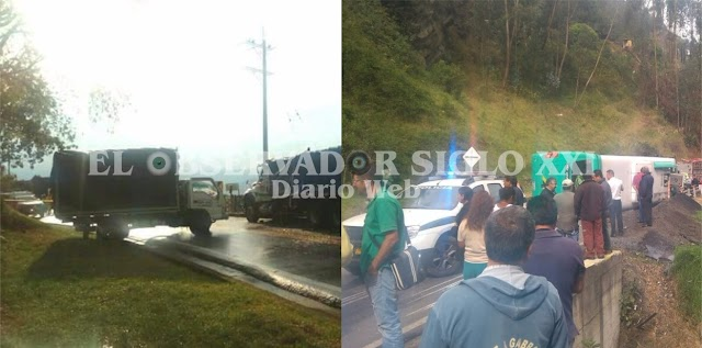 Accidentes en vías de Cundinamarca esta mañana no dejan victimas mortales