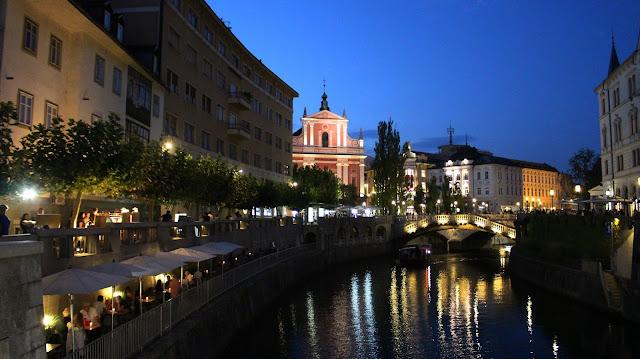 Ljubljana nuit