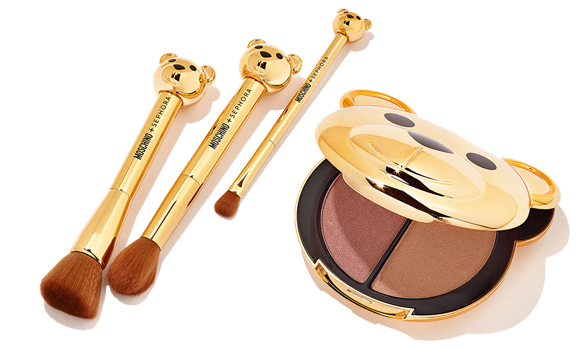 coleção de maquiagem da Sephora e Moschino