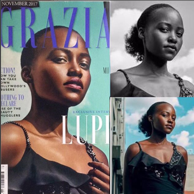Lupita Nyong'o blasts Grazia magazine after they photoshopped her hair, but non-fans say the mag was right to crop out her hair