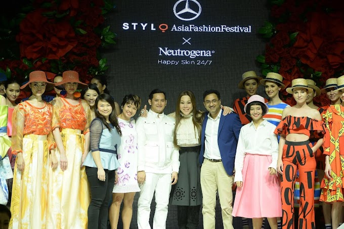 Aspirasi Neutrogena Happy Skin 24/7 dalam Mercedes-Benz STYLO Asia Fashion Festival
