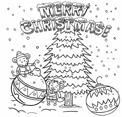 Simple fun stuff to sketch for Xmas tree winter scene merry Christmas drawing ideas for young people