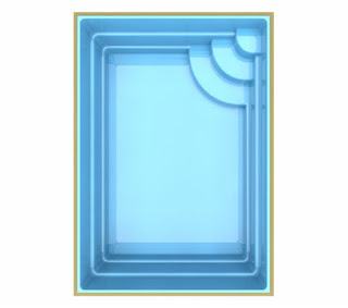 Preço piscina de fibra Ravena