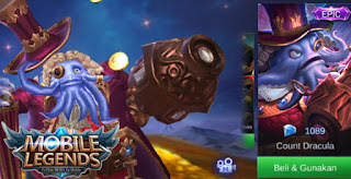 The most expensive skin in the Mobile Legends game