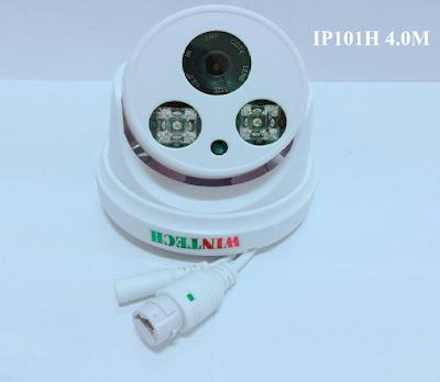 Camera IP WinTech IP101H 4M Độ phân giải 4.0 MP