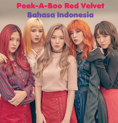 Terjemahan dan Lirik Lagu Peek-A-Boo Red Velvet