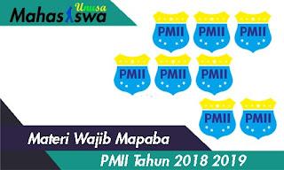 materi wajib mapaba pmii pdf