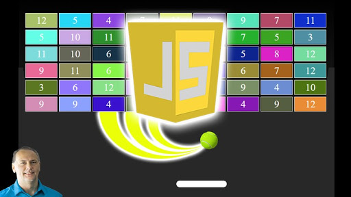 JavaScript Breakout Game from scratch with only JavaScript