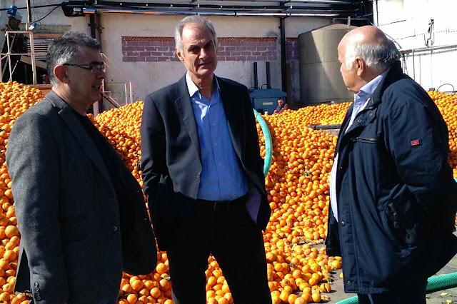 Επίσκεψη Γκιόλα στις «ΕΣΠΕΡΙΔΕΣ» - Στην τελική ευθεία οι εργασίες αποκατάστασης