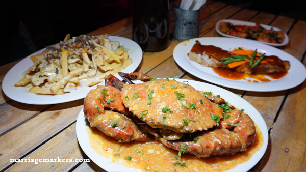 Singapore Chilli Crab at Fafi's Fusion - The Boxes Bacolod restaurants