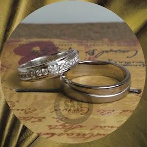 cincin emasputih perak p5774