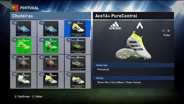 PES 2016 New Bootpack Real HD