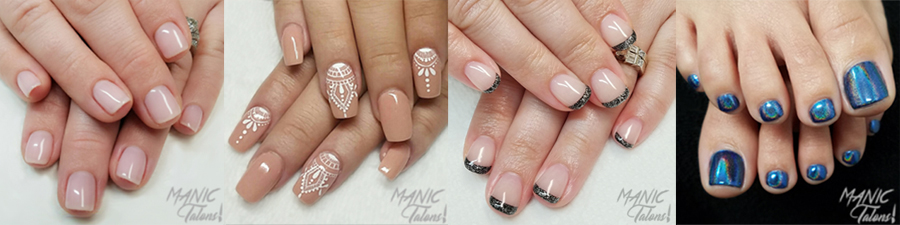 Manic Talons Nail Design Welcome