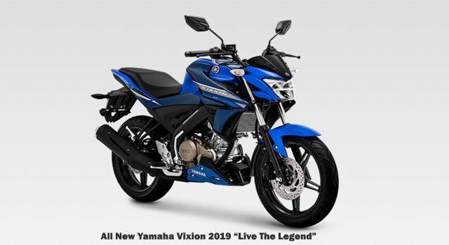Spesifikasi dan Harga Resmi All New Yamaha Vixion 150 Live The Legend